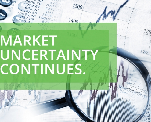 market uncertainty continues